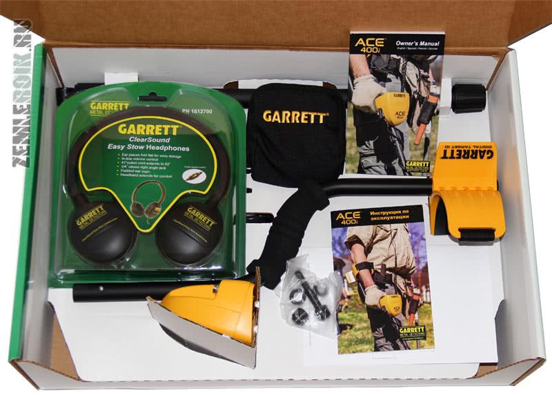 Металлоискатели garrett ace 300 и ace 400 поступили в продаж.