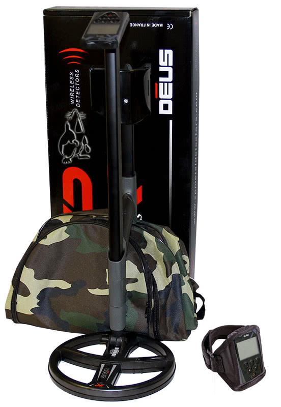 Металлоискатель XP Deus 4.0 в полной комплектации (Блок, катушка 22.5 см, наушники WS4). Подарок к 23 февраля!